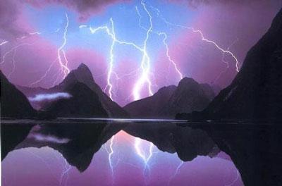 Three Fold Lightning