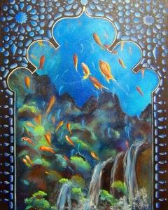 Underwater Palace Window