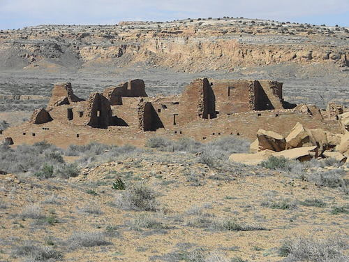 TAKEN BY WISE OWL PAM ON A VISION QUEST THROUGH CHACO CANYON, NEW MEXICO AT THE NEW MOON ON APRIL 18